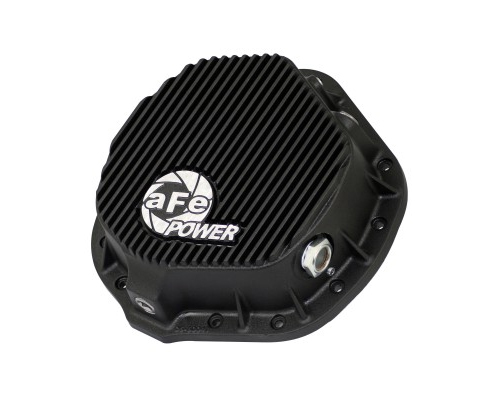 Image of aFe Power Black Rear Differential Cover Chevrolet 1500 Duramax V8 6.6L 01-12