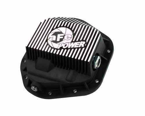 Image of aFe Power Machined Front Differential Cover Ford F-350 Power Stroke V8 94.5-12