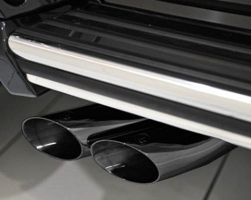 Brabus Valve Control Exhaust Black Chrome Tips Mercedes Benz G63 | G65 AMG 12-17 - 463-678-63-SC