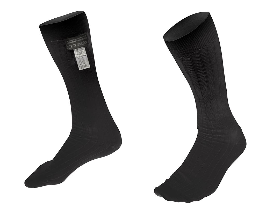 Alpinestars Race Socks Black Size SM FIA 8856-2000 - 4704018-10-S