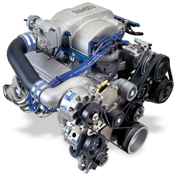 Vortech Satin Supercharger System w/ V-3 SCi Ford Mustang 5.0L 86-93 - 4FA218-010L