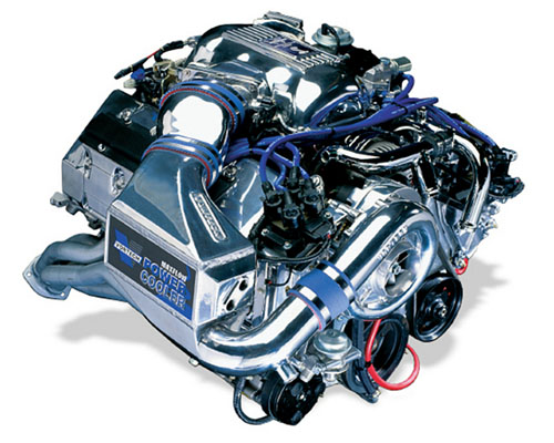 Vortech Satin H.O. Charge Cooled Supercharger System w/ V-3 Si Ford Mustang SVT Cobra 4.6L 96-98 - 4FK218-050L