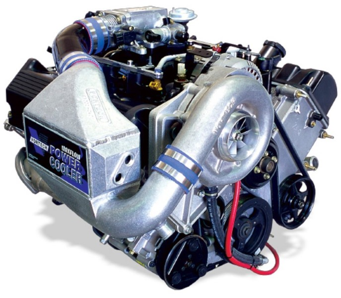 Vortech Satin Supercharger System w/ V-2 Si & Charge Cooler Ford Mustang GT 4.6L 00-04 - 4FL218-140SQ