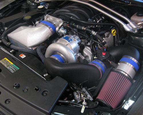 Vortech Satin V-Power Supercharger System w/ V-3 Si & Charge Cooler Ford Mustang Bullitt 4.6L 2008 - 4FU218-050L