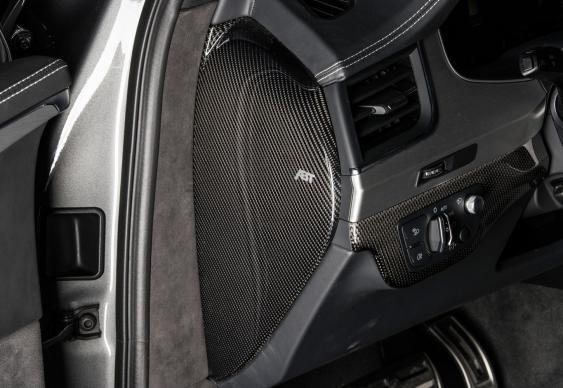 ABT Sportline Carbon Fiber Dashboard Side Panels Audi Q7 | SQ7 16-18 - 4M007006112-1