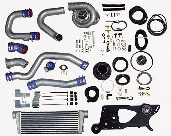 Vortech V-2 Si Satin Tuner Kit w/ Charge Cooler Nissan 350Z | Infiniti G35 Rev-Up 05-06 - 4NZ218-120SI