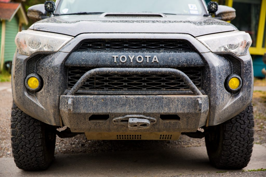 Southern Style Offroad Slimline Hybrid Front Bumper W Access Holes Toyota 4runner 14 18 4r A H Pc
