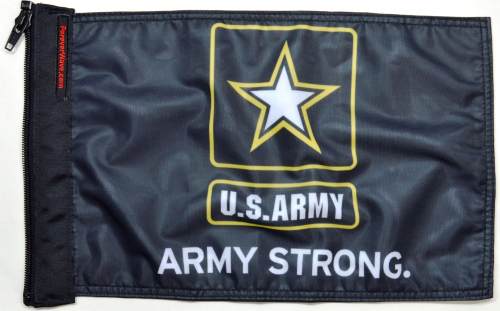 Forever Wave Army Strong Flag - 5032