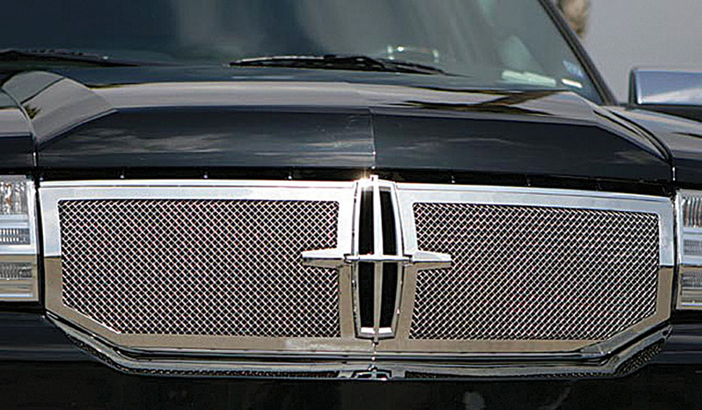 Navigator Grille 07-14 Lincoln Navigator Stainless Polished 2 Piece T-REX Grilles - 50713