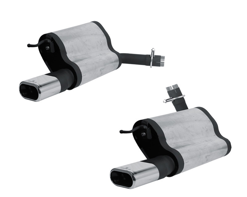 REMUS Stainless Dual Mufflers w/135x75mm Dual Tips Mercedes-Benz E280 3.0L W211 07-09