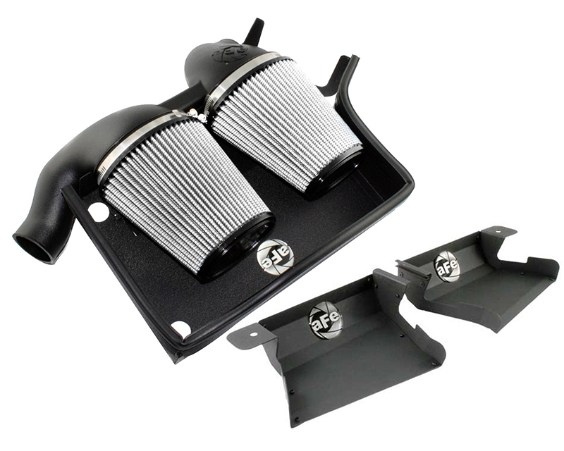 aFe Magnum FORCE Stage-2 Pro Dry S Cold Air Intake System BMW 335i 07-10 - 51-11473