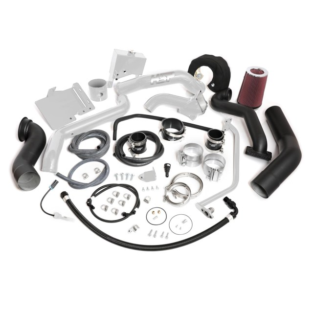 2013-2016 Chevrolet / GMC Over Stock Twin Kit No Turbo Factory Battery  Location White HSP Diesel