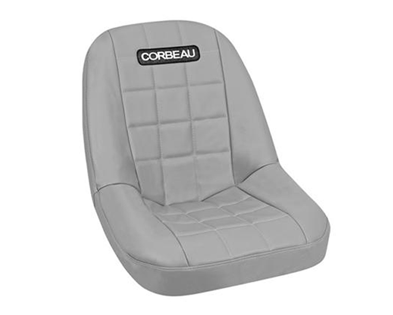 Image of Corbeau Rhino Seat Covers Grey Vinyl Cloth 52099