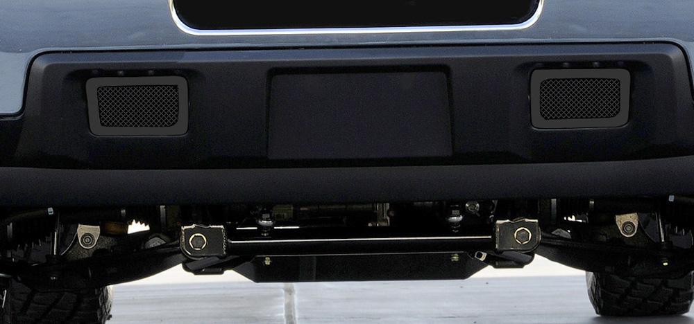 Silverado HD Bumper Grille 11-14 Chevrolet Silverado HD Mild Steel Powdercoat Black 2 Piece Upper Class Series T-REX Grilles - 52115