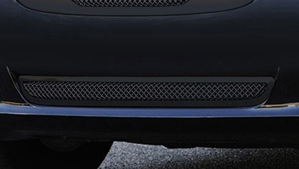 Chrysler 300 Bumper Grille 11-14 Chrysler 300 Mild Steel Powdercoat Black Upper Class Series T-REX Grilles - 52433