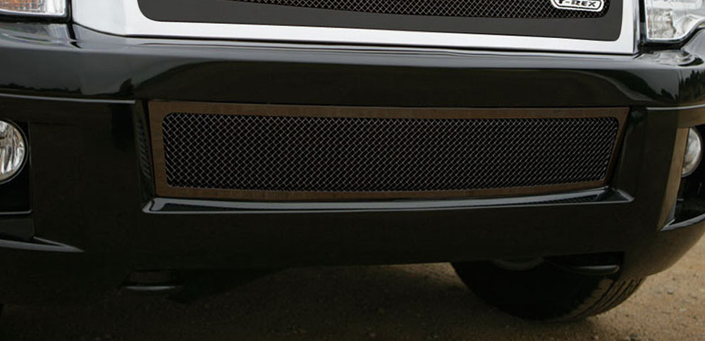 Expdition Bumper Grille 07-14 Ford Expdition Mild Steel Powdercoat Black Upper Class Series T-REX Grilles - 52594