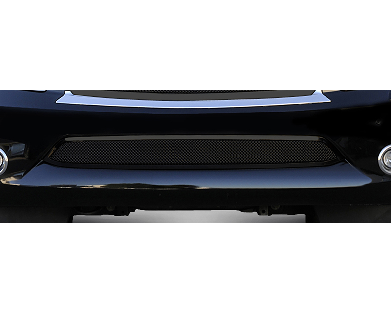 QX56 Bumper Grille 11-13 Infiniti QX56 W/O Cruise Sensor Mild Steel Powdercoat Black Upper Class Series T-REX Grilles - 52793