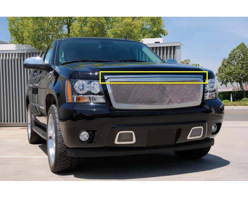 2007-2013 Avalanche, 07-14 Sub/Tahoe Accent Exterior Trim, Polished, 1 Pc, Overlay - PN #54054 - 54054
