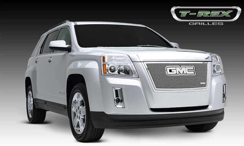 Terrain Grille 10-14 GMC Terrain Stainless Polished Upper Class Series T-REX Grilles - 54153