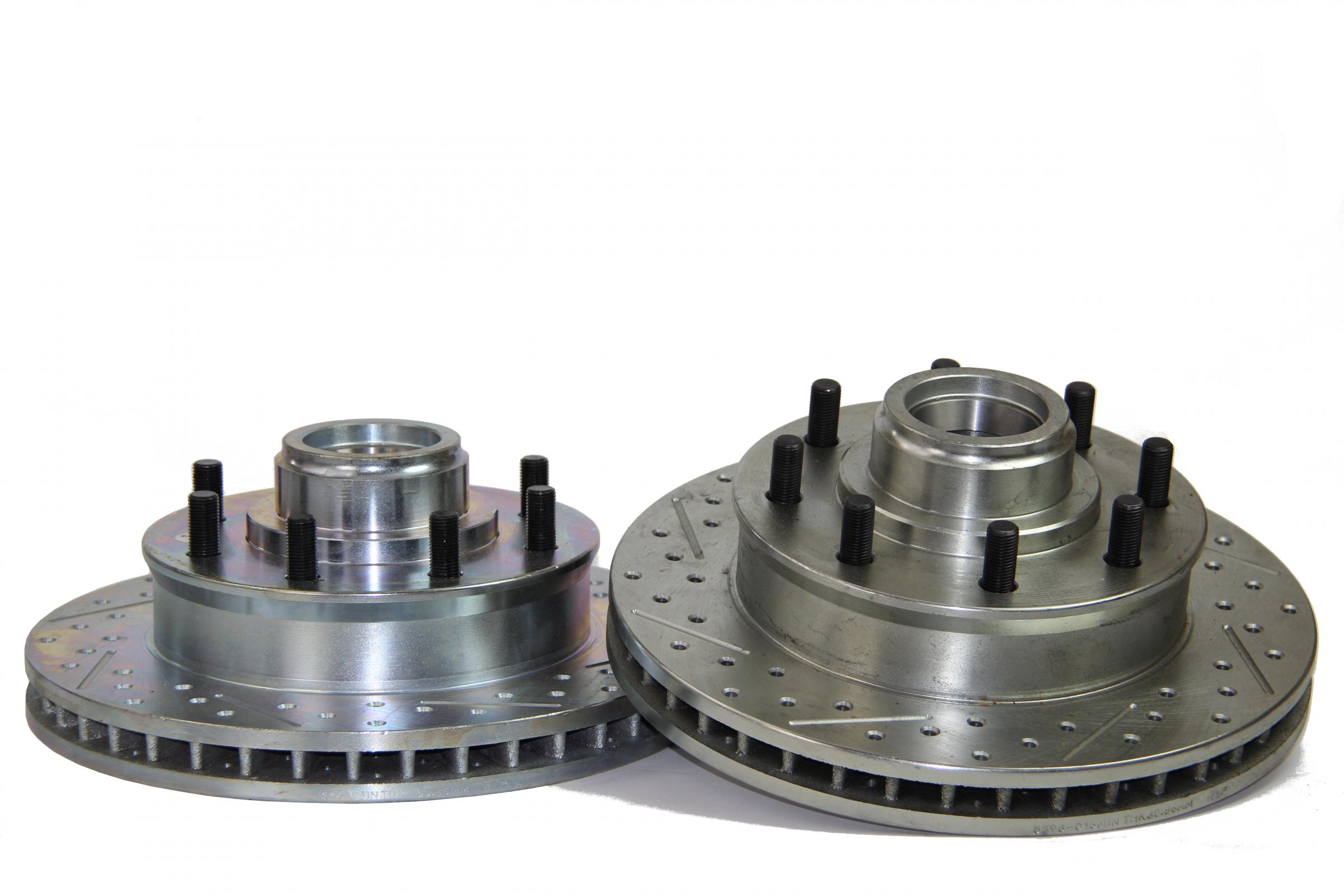 Brake Rotor 13.66 Inch Front 1.500 Thick Various Ford Applications BAER Sport - 54160-020