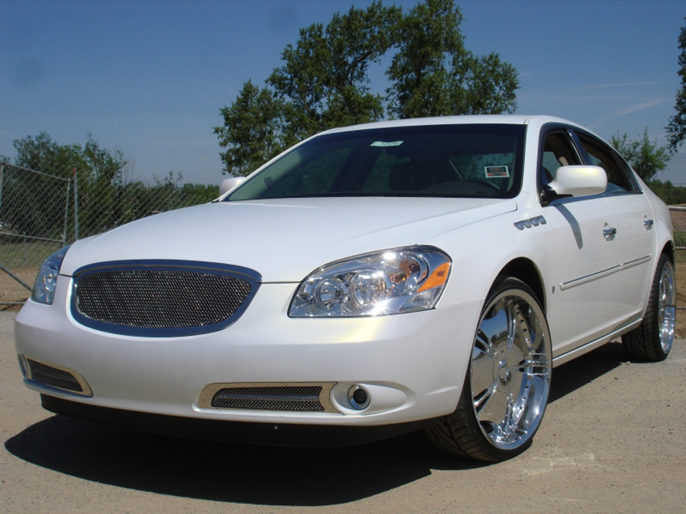 Lucerne Grille 06-09 Buick Lucerne Stainless Polished Upper Class Series T-REX Grilles - 54391