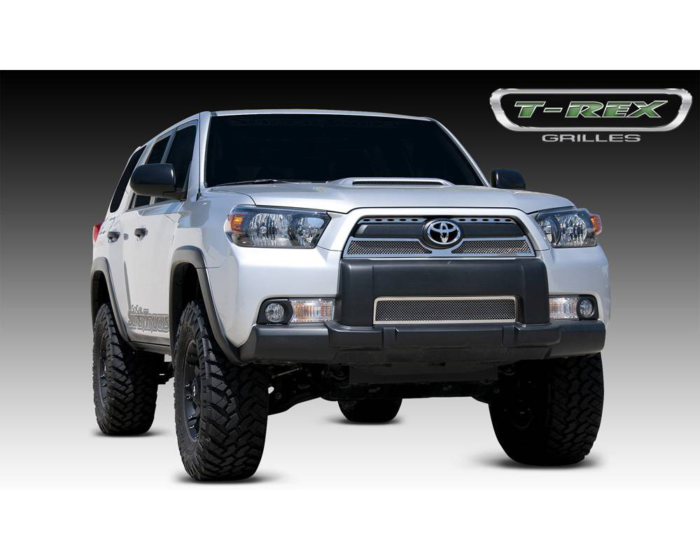 2010-2013 Toyota 4Runner Upper Class Grille, Polished, 3 Pc, Overlay - PN #54947 - 54947