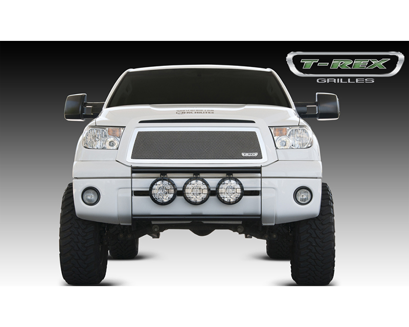 Tundra Grille 10-13 Toyota Tundra Stainless Polished Mesh T-REX Grilles - 54963