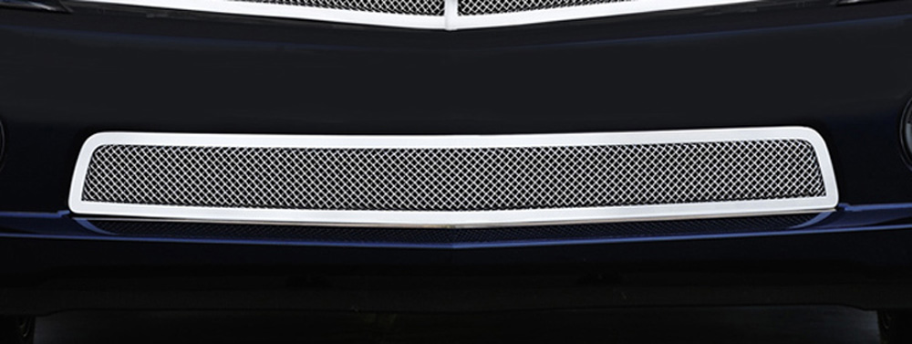 Camaro RS Bumper Grille 10-13 Chevrolet Camaro RS Stainless Polished Upper Class Series T-REX Grilles - 55027