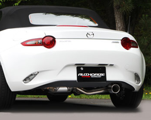 Fujitsubo Authorize R Exhaust System Mazda MX-5 16-17 - 550-42441