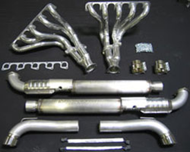 Belanger Headers And Side Pipe kit Dodge Viper V10 03-06 - 5508