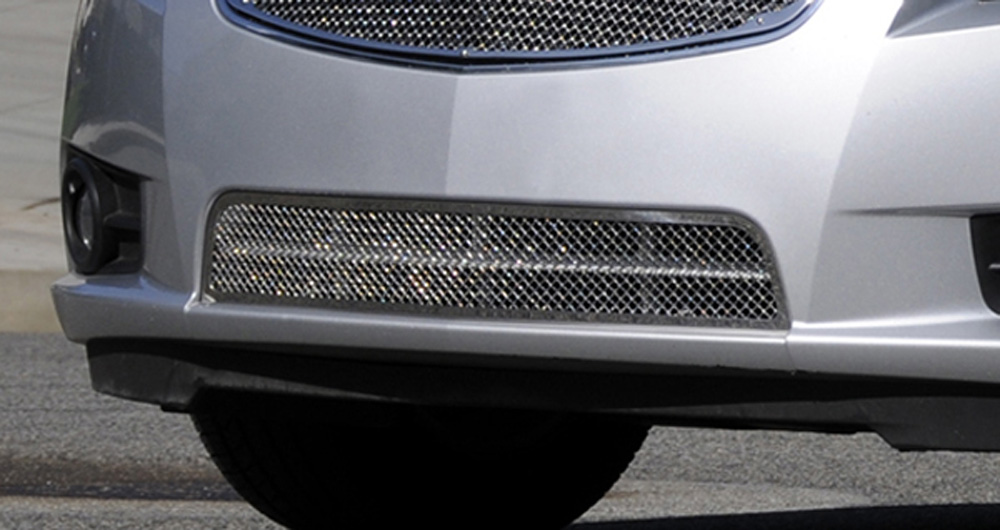 Cruze Bumper Grille 11-14 Chevrolet Cruze Stainless Polished Upper Class Series T-REX Grilles - 55125