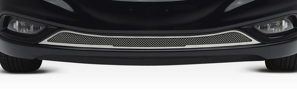 Sonata Bumper Grille 11-13 Hyundai Sonata Stainless Polished Upper Class Series T-REX Grilles - 55490