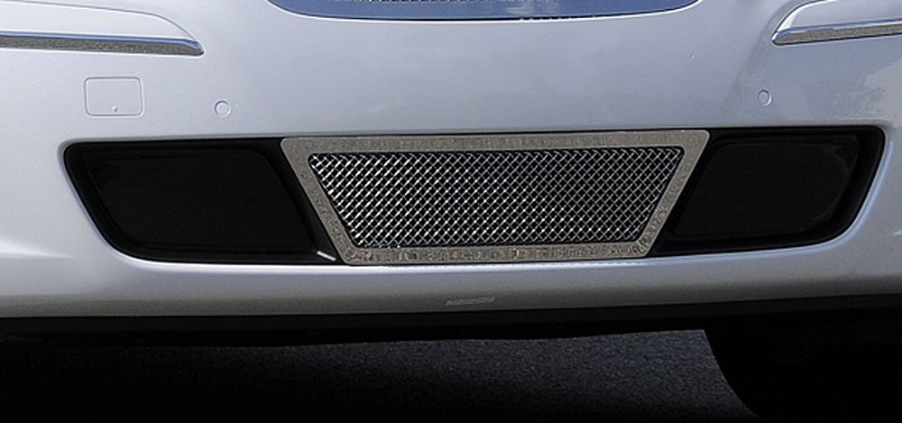 Genesis Sedan Bumper Grille 09-11 Hyundai Genesis Sedan Stainless Polished Upper Class Series T-REX Grilles - 55495