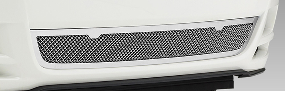 Mustang Bumper Grille 13-14 Ford Mustang GT Stainless Polished Upper Class Series T-REX Grilles - 55525