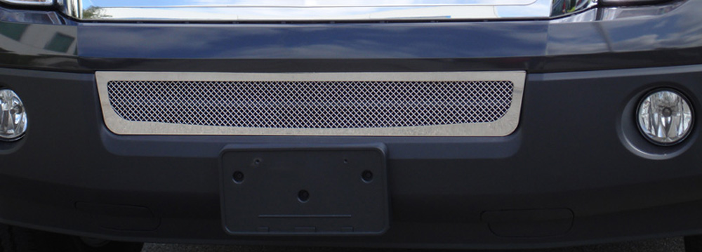 Expdition Bumper Grille 07-14 Ford Expdition Stainless Polished Upper Class Series T-REX Grilles - 55594