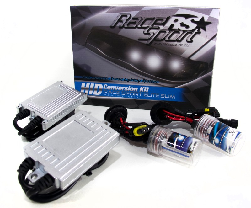 Race Sport Lighting 9007 HID 6K AC Super-Slim 55W Ballast Kit - 9007-6K-SLIM-55W