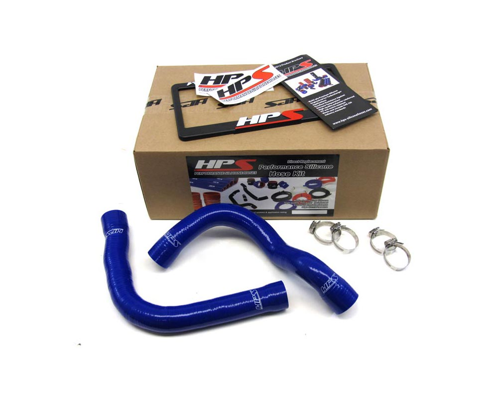 HPS Blue Reinforced Silicone Radiator Hose Kit Coolant for BMW 92-99 E36 318 - 57-1007-BLUE