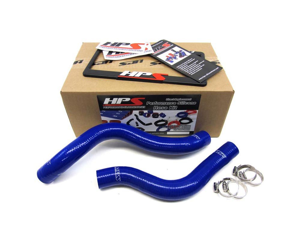 HPS Blue Reinforced Silicone Radiator Hose Kit Coolant for Mitsubishi 90-94 Eclipse 2.0L - 57-1038-BLUE