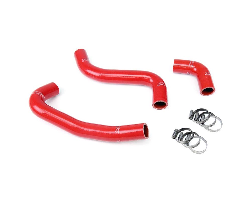 HPS Red Reinforced Silicone Radiator Hose Kit Coolant for Scion 04-07 xB - 57-1059-RED