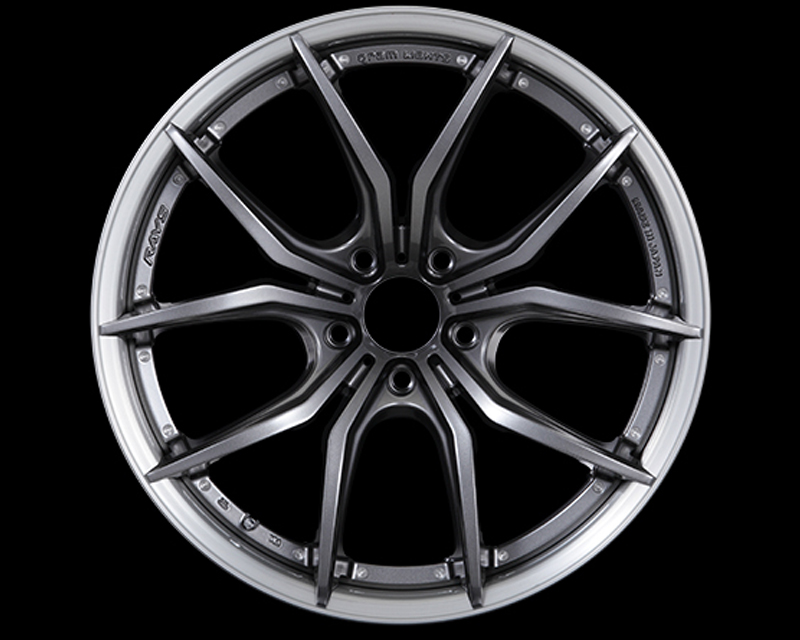 57Motorsport Dark Gunmetal w| Brushed Rim G07FXX Pro Wheel 20x10.5 5x120 20mm - 57MSFXXP-20105-512020