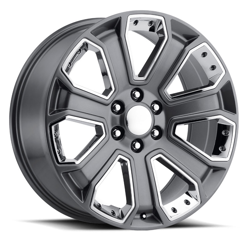 OE Replica 588 Series 20x85 6x1397 32MM Gray With Chrome Inserts
