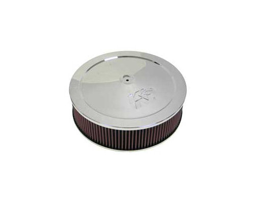 12 Round Air Cleaner : K n round air cleaner assembly inch with
