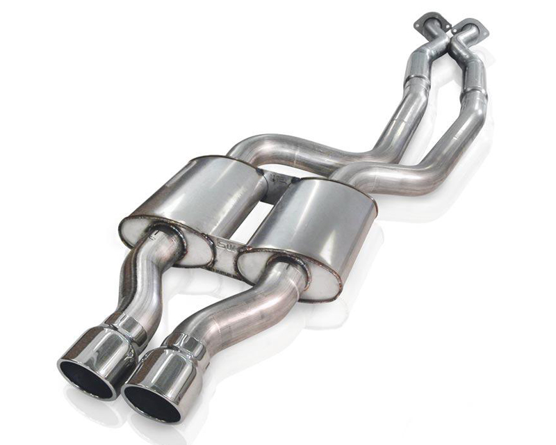 Stainless Works 3in Chambered Exhaust with X-Pipe Jeep Grand Cherokee 5.7L SRT-8 6.1L 06-10