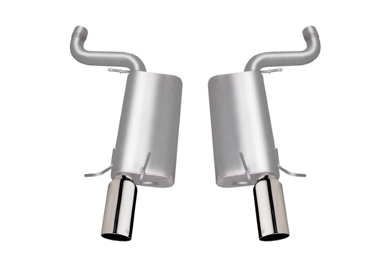 Gibson Performance Axle Back Dual Exhaust System Stainless - 616000