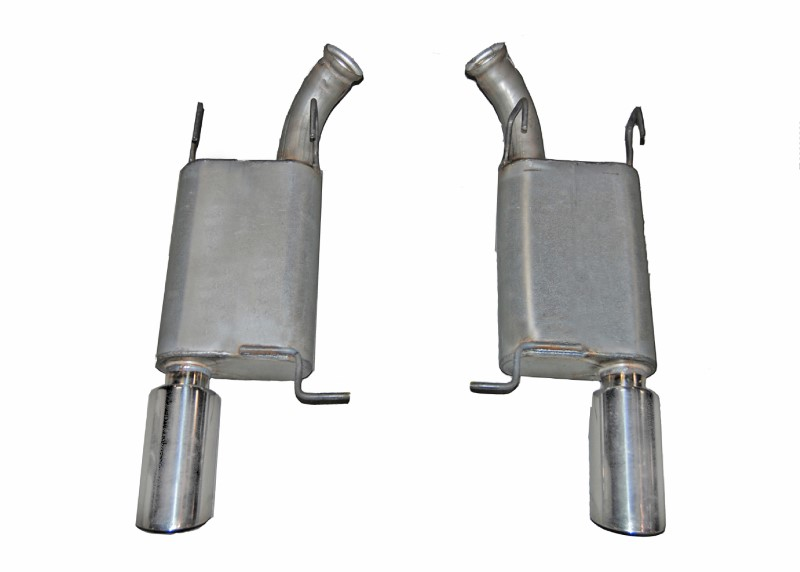 Gibson Performance Axle Back Dual Exhaust System Stainless - 619010
