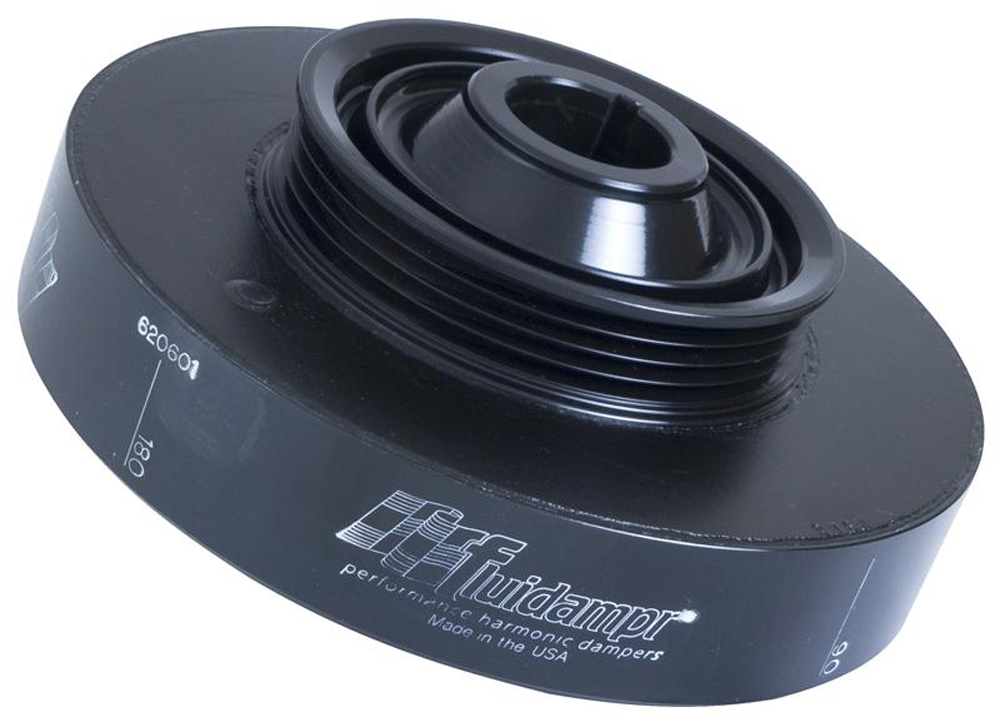 Image of Fluidampr 35 Percent Underdrive Atl Pulley only Steel Internally Balanced Damper Honda All B Series