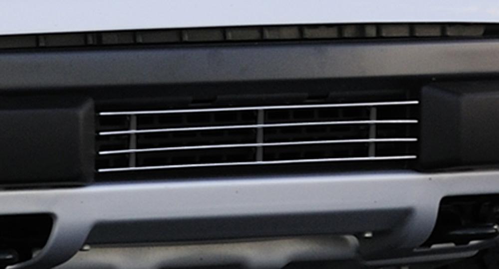 Raptor F-150 SVT Bumper Grille 10-14 Ford Raptor F-150 SVT Mild Steel Flat Black Laser Series T-REX Grilles - 6225666