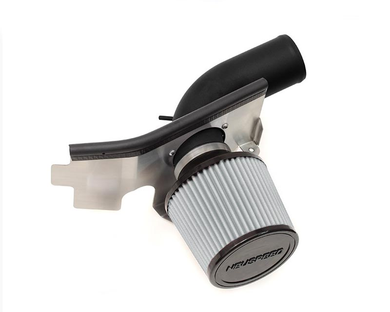 Image of Neuspeed Black Wrinkle P-Flo Air Intake Kit with Dry Filter Volkswagen Beetle 2.0L TSI 13-14