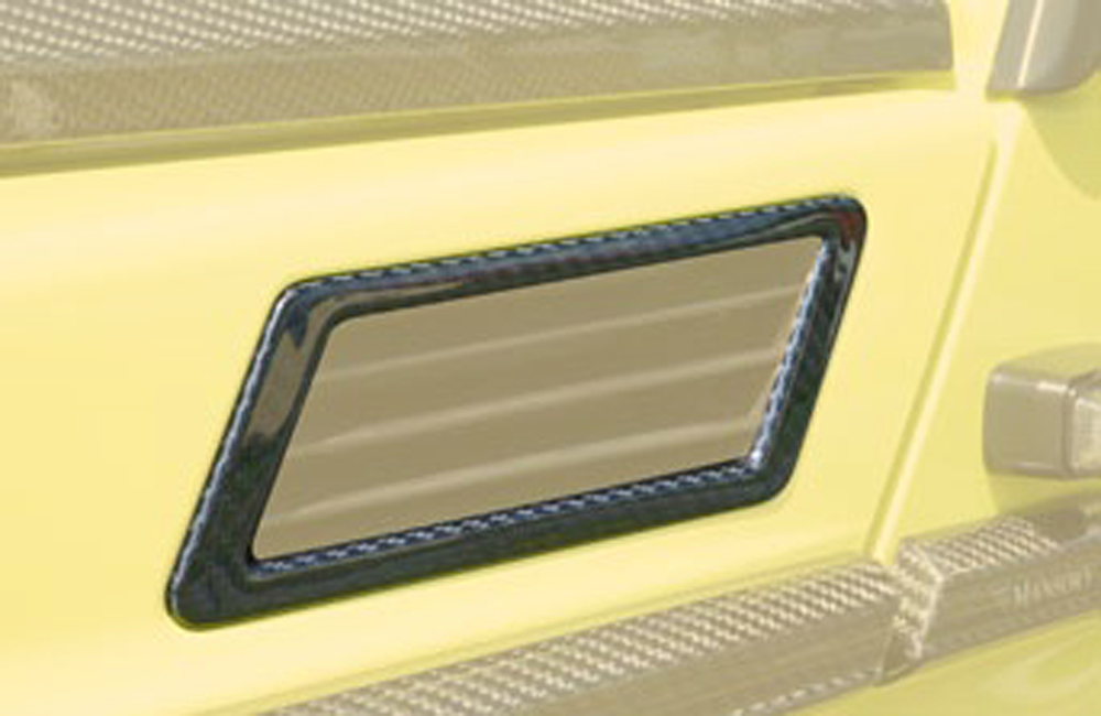 66g 131 771 Mansory Glossy Carbon Fiber Air Outlet Frame Cover