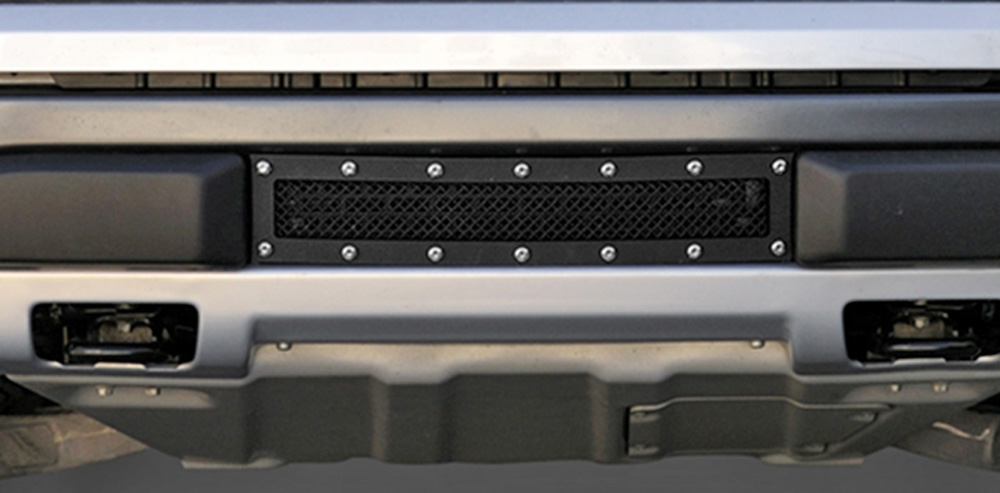 Raptor F-150 SVT Bumper Grille 10-14 Ford Raptor F-150 SVT Mild Steel Powdercoat Black X Metal Series T-REX Grilles - 6725661